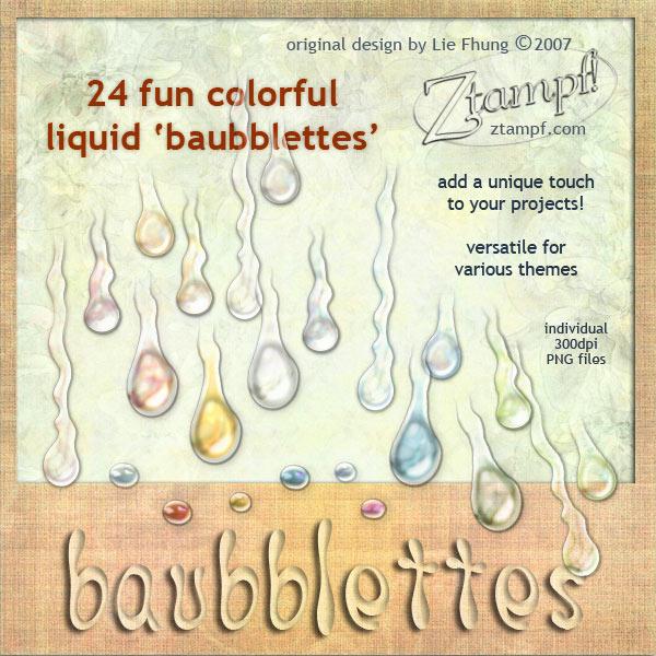 Baubblettes Pack