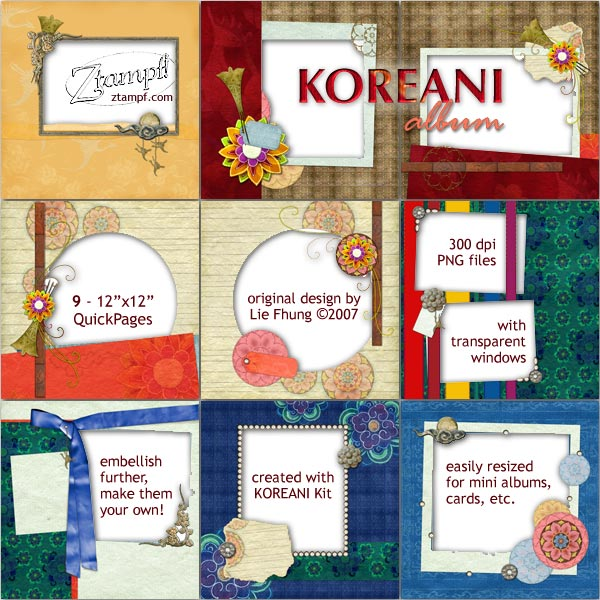 KOREANI Album Set