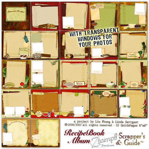 Recipe Book Album