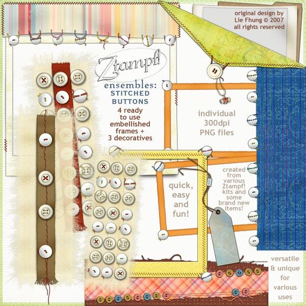 Ensembles: Stitched Buttons