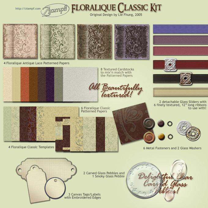Floralique Classic Kit