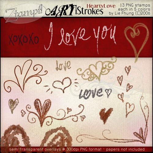 ARTiStrokes HeartyLove
