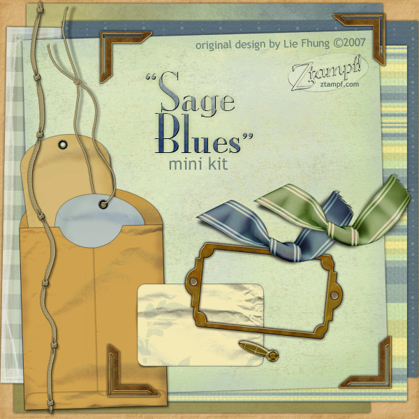 Sage Blues Mini Kit