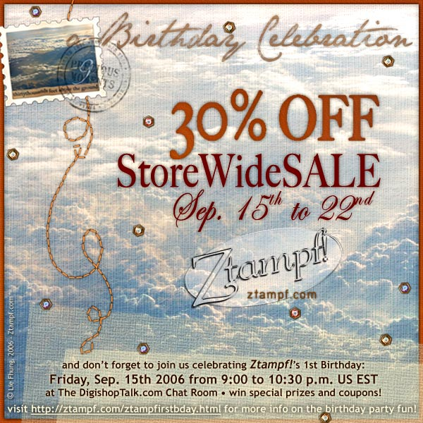 StoreWide S A L E : 30% OFF!!!