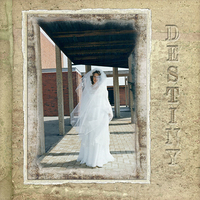 Destiny - My wedding picture taken 31 years ago using Palais Royal kit.