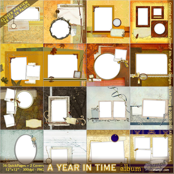 A Year In Time Mega Album Set - DOWNLOAD Version - Click Image to Close