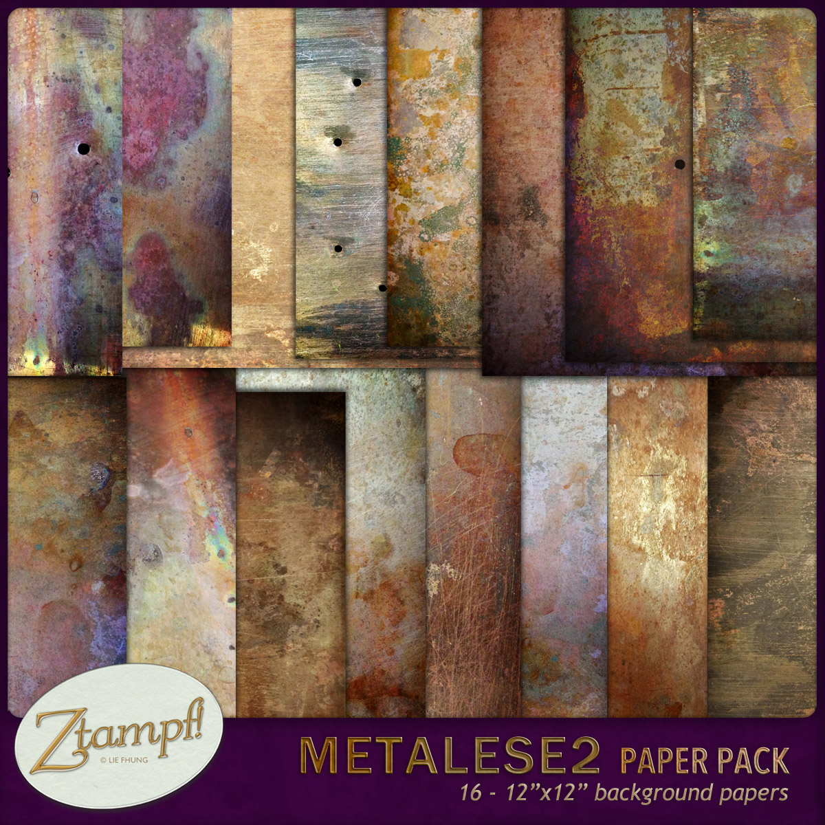 Metalese Two Backgrounds - Click Image to Close